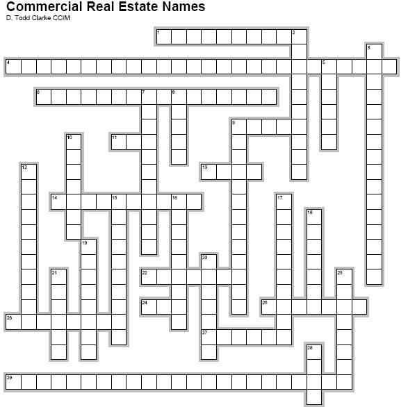 Names in Commercial Real Estate